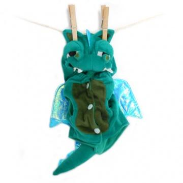 Disfraz de dragón para perros.