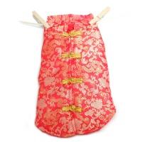 Kimono para perritos color rojo.