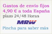 Envío gratuito a toda España.